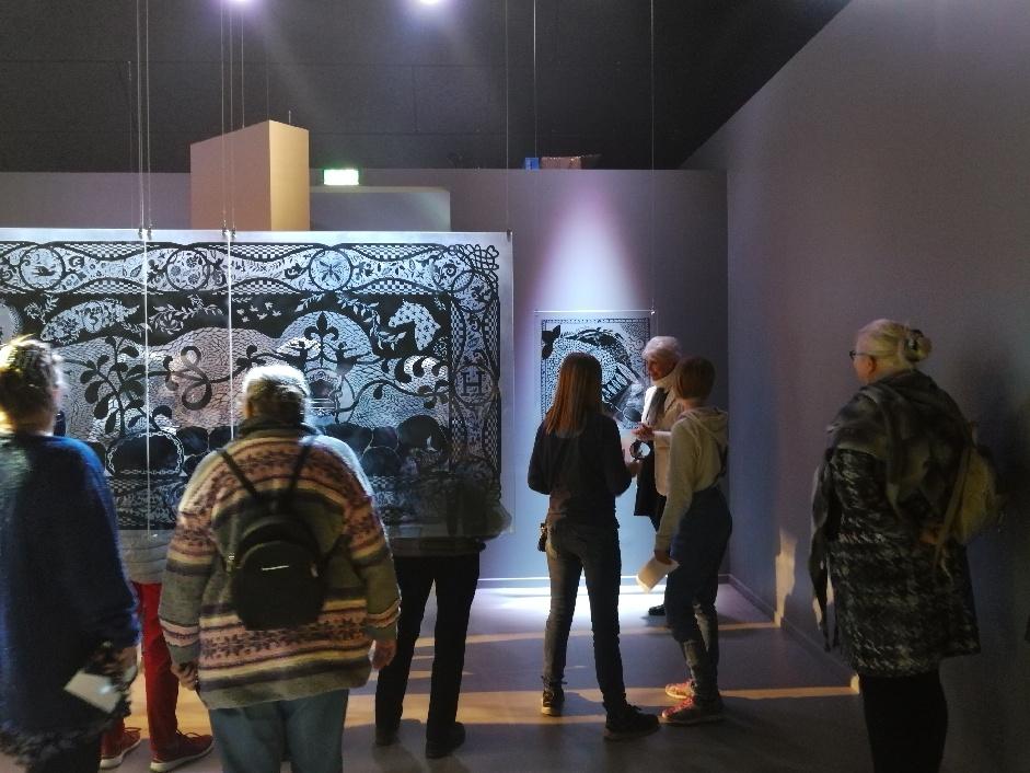 Voksen entrébillet til Museum for Papirkunst
