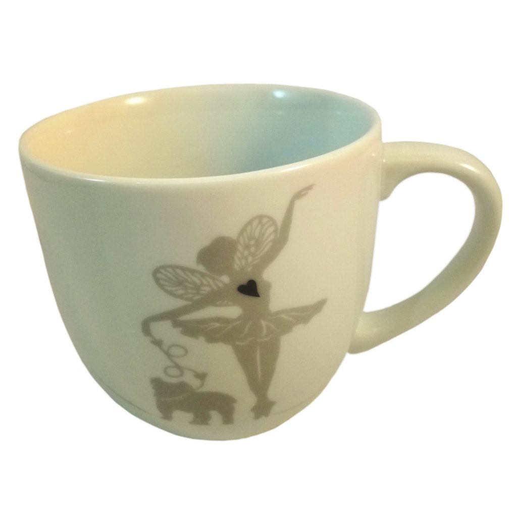 Ballerina mug with Bulldog