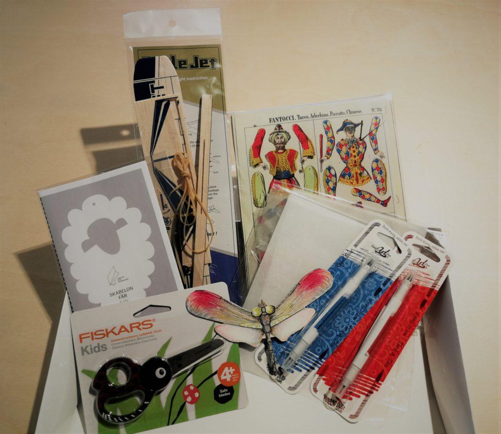 Kreativ papirlegetøjspakke, stor
